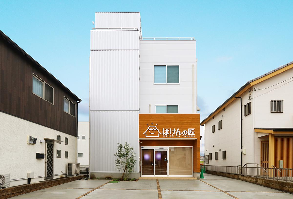 多目的スペースと事務所を上手にまとめた ナチュラルな雰囲気のオフィス空間 沼津市・(有)MS-NET