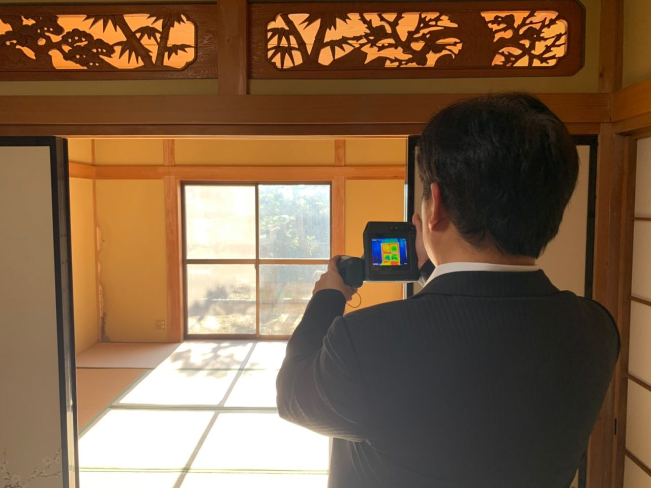 リノベモデルハウス【温度調査】