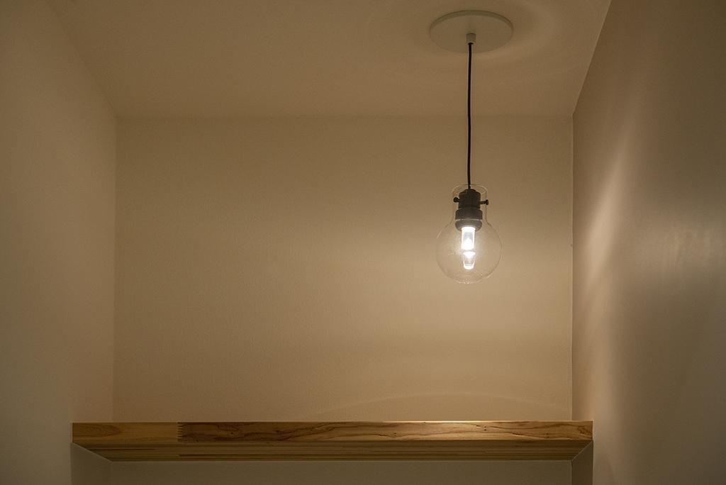 トイレ照明(DAIKO LEDペンダントライト)