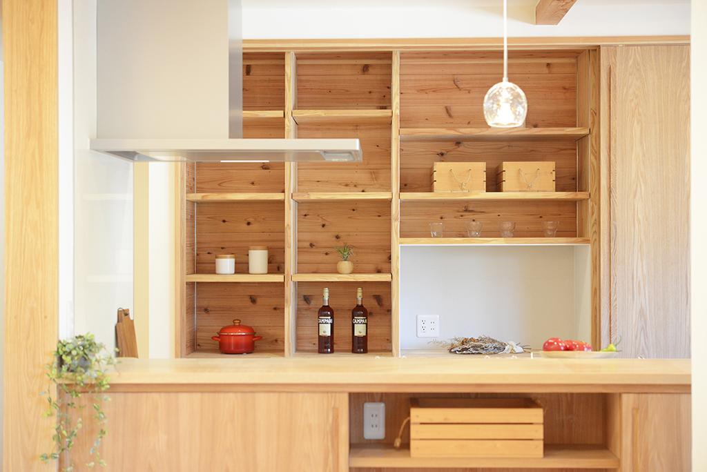 キッチン・造作棚