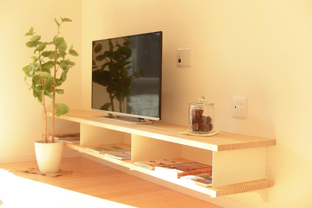 リビング造作テレビボード