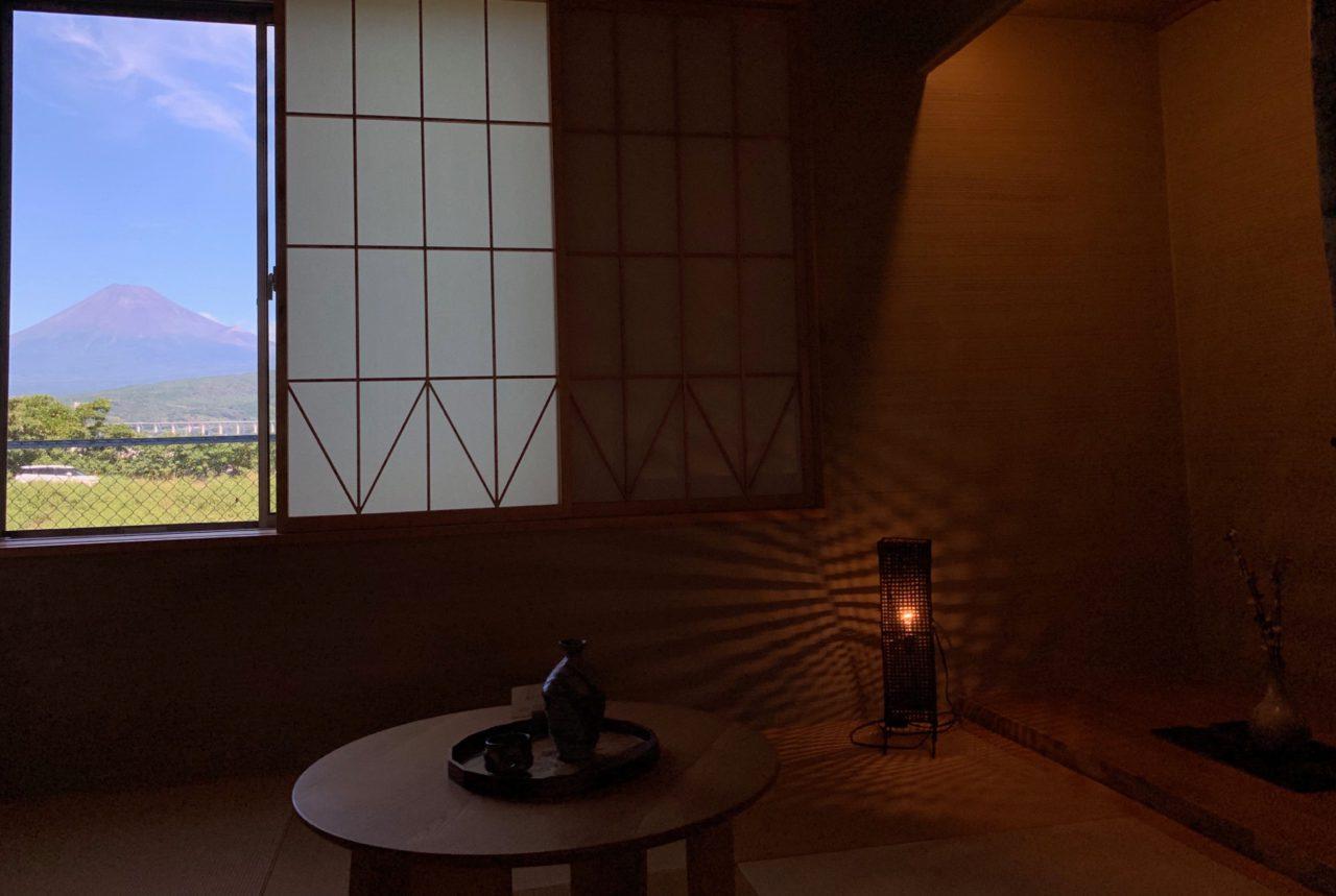 富士山が見える和室ショールーム