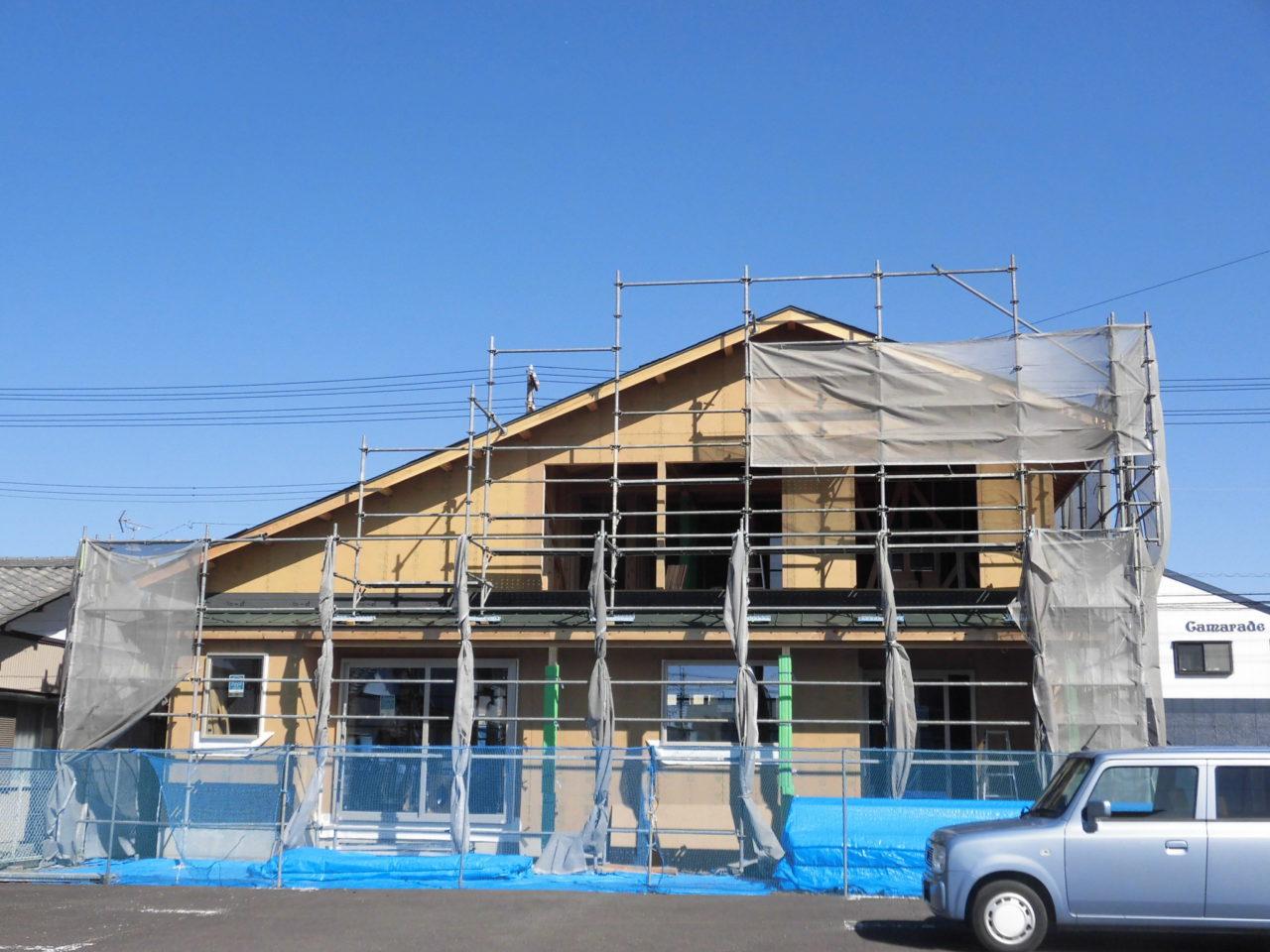 エコフィールドの家の現場報告~10件の家が建設中です☆~