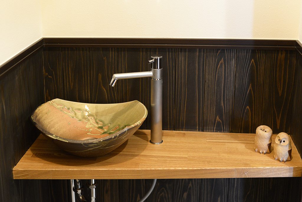 造作手洗い鉢